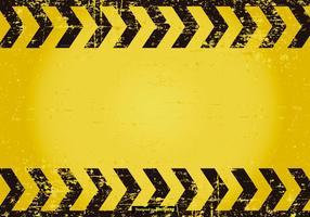 Fond d'écran grunge Caution vecteur