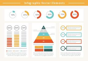 Éléments d'infographie gratuits pour les entreprises vecteur