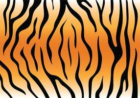 Motif de la rayure du tigre vecteur