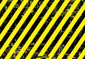Historique du danger / précaution grunge vecteur