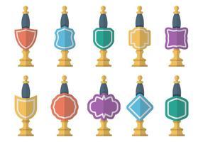 Vecteur libre d'icônes de pompe à bière