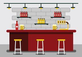 Bar Illustration vecteur