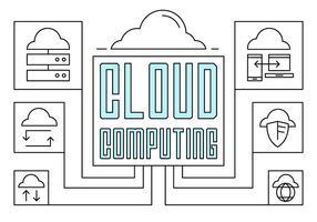 Illustration du calcul linéaire en nuage