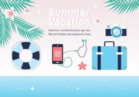 Fond d'écran gratuit Hello Summer Vector