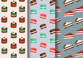 Formes de boulangerie mignonnes gratuites vecteur