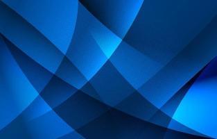 abstrait fond bleu ondulé vecteur