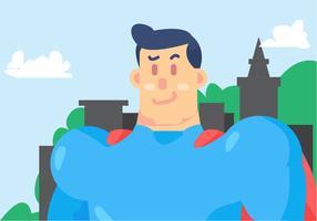 Vecteur superman