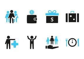 Icône de prestations pour employés
