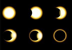 Vecteurs de phase Eclipse solaire