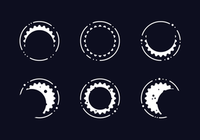 Vecteur éclipse solaire gratuit