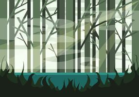 Swamp Illustration Vector # 2