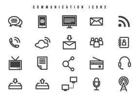 Vecteurs de communication gratuits vecteur