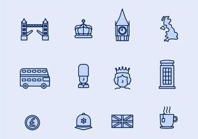 Icône vectorielle britannique