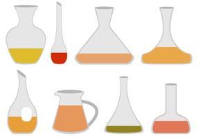 Vecteurs de décanteurs plats