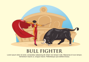 Illustration vectorielle Bull Fighter