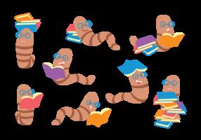 Ensemble de dessins animés vecteur