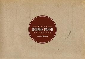 Vieille texture de papier brun vecteur