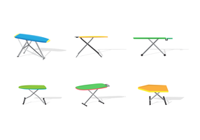 Table de repassage Free Vector Pack