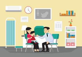Vecteur pédiatre