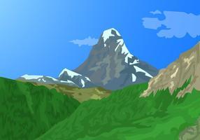 Alpes Matterhorn Suisse Montagnes vecteur