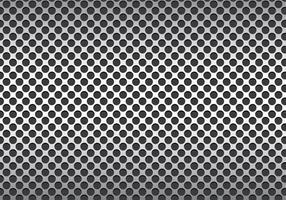 Vecteur de texture en métal argenté