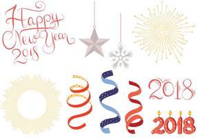 Vecteurs gratuits du nouvel an