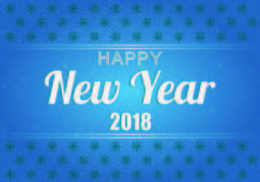 Contexte de la bonne année 2018 vecteur