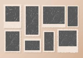 Vector de cadre de photos de VIntage gratuit