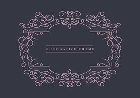 Cadre décoratif vectoriel