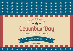 Illustration de Columbus Day 2017 vecteur