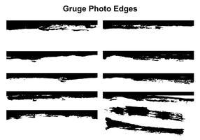 Vecteur de bordures de photo