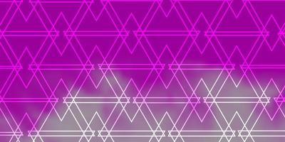 motif rose avec un style polygonal. vecteur