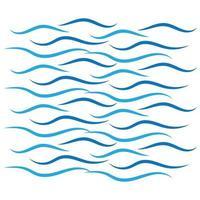 icône de vague deau