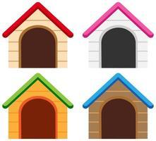 ensemble de couleurs différentes de niches
