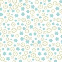 motif floral léger