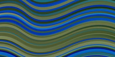 fond bleu foncé avec des lignes ironiques.