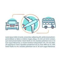 concept de transport public