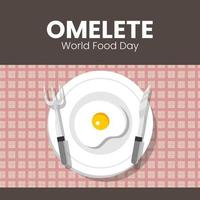 oeuf de la journée mondiale de l'alimentation
