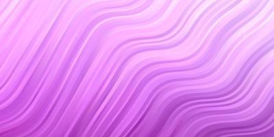 fond rose clair avec des lignes pliées. vecteur