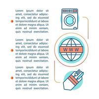 modèle de page d'article sur les installations de croisière