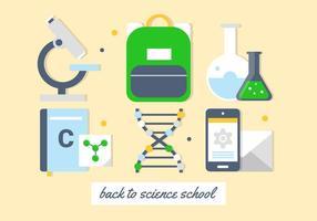 Éléments et icônes vectorielles d'éducation gratuite vecteur