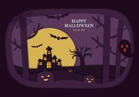 Vecteur illustration d'Halloween