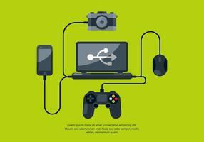Technologie Vector Illustration