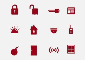 Icônes de vecteur de voisinage