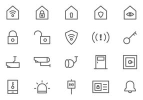 Vecteurs de surveillance de quartier gratuits