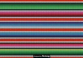 Contexte Vectorisé en Poncho Tricoté vecteur