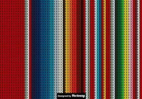 Contexte de poncho mexicain tricoté Vector