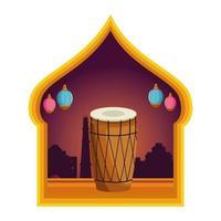 icône de tambour mridangam