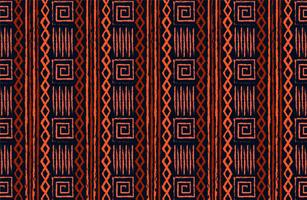 conception de tissu tribal traditionnel vecteur