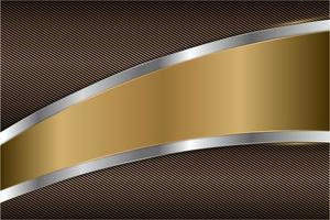 fond de métal moderne élégant